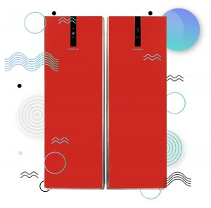 دوقلوی امرسان مدل الگانت ویژه نوروز 300x295 - يخچال فريزر دوقلوی امرسان مدل الگانت قرمز ویژه نوروز