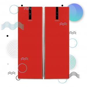 دوقلوی امرسان مدل الگانت ویژه نوروز 300x300 - يخچال فريزر دوقلوی امرسان مدل الگانت قرمز ویژه نوروز