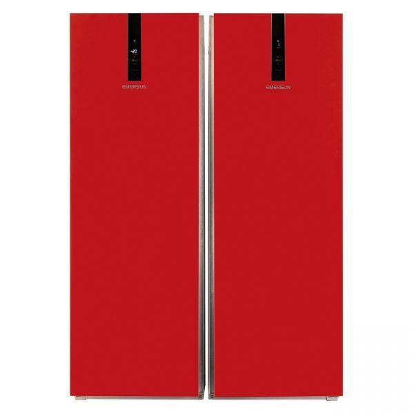 22 40 131607212 132607512 600x600 - يخچال فريزر دوقلوی امرسان مدل الگانت قرمز