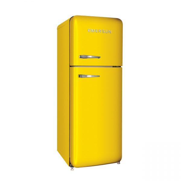 زرد 1 600x600 - يخچال فريزر کلاسیک زرد بالا پایین امرسان ویژه نوروز