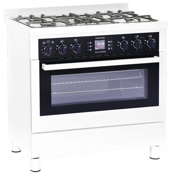 EXCELLENT White 97 06 600x600 - اجاق گاز مبله 5 شعله امرسان اکسلنت مدلG5MD/PR