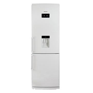 امرسان 01 - يخچال فريزر بالا پایین 20 فوت هوشمند یخسازدار امرسان تاچ LCD